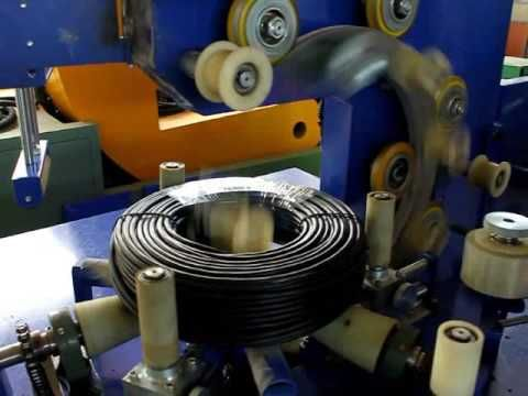 cable packing machine & wrapping machine by film
