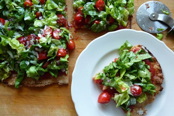 Salad pizza is AMAZING