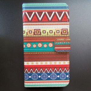 Кошелек стиль кожаный чехол для азуми A50C плюс A50C + защитный чехол мешок с карт памяти подставка