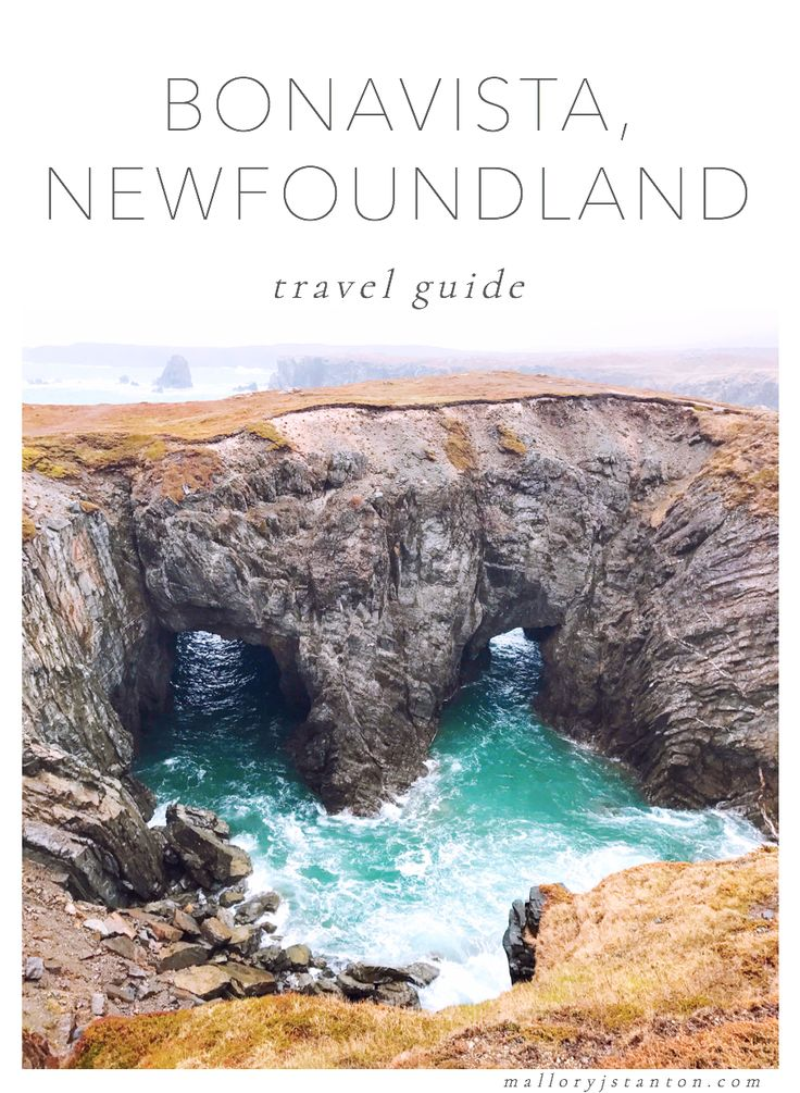 Travel guide and tips to the Bonavista Peninsula, Newfoundland. What to do, where to stay, restaurants to eat at. Pictured: Dungeon Provincial Park. (via malloryjstanton.com)