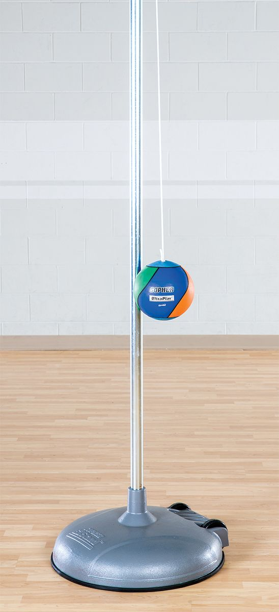 Ezstand Portable Tetherball Pole Gopher Sports Sports Golf Clubs