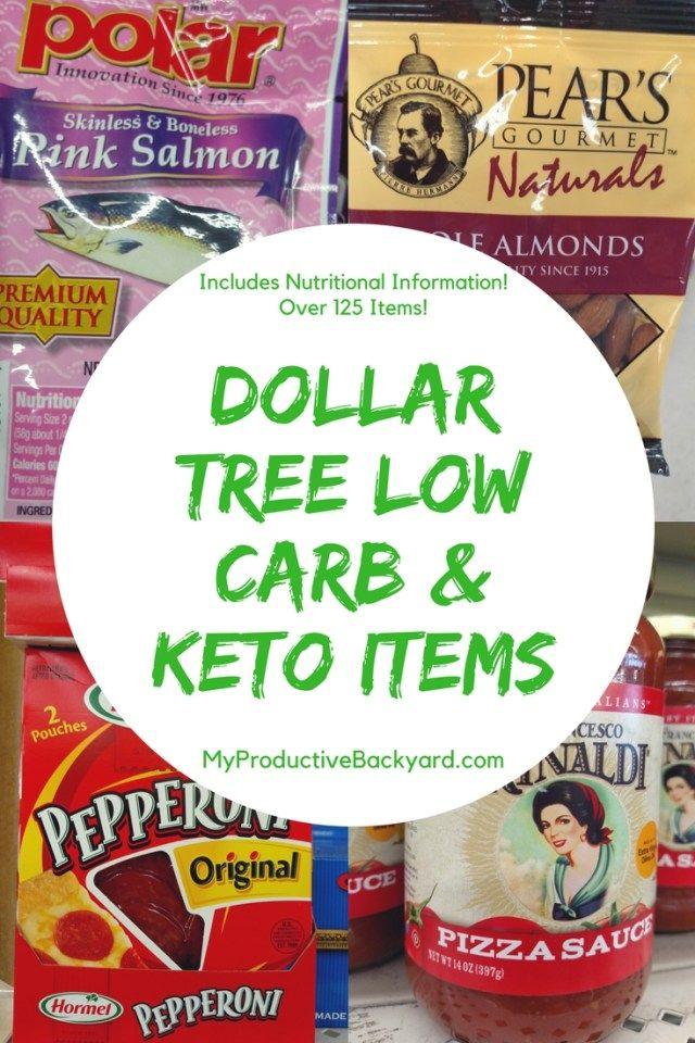 Dollar Tree Low Carb And Keto Items Keto Shopping List Keto