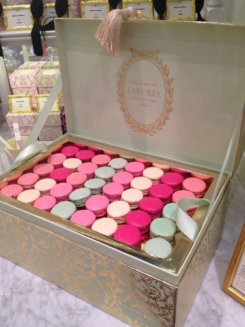 Ladurée Macarons - https://www.laduree.com/en_int/                                                                                                                                                                                 More