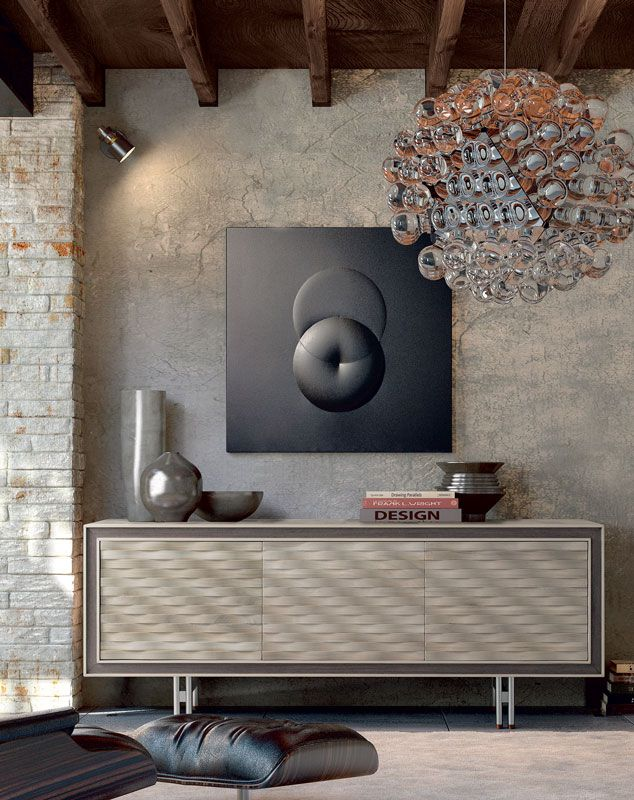 Dale Italia A 611 Sideboard In Solid Walnut