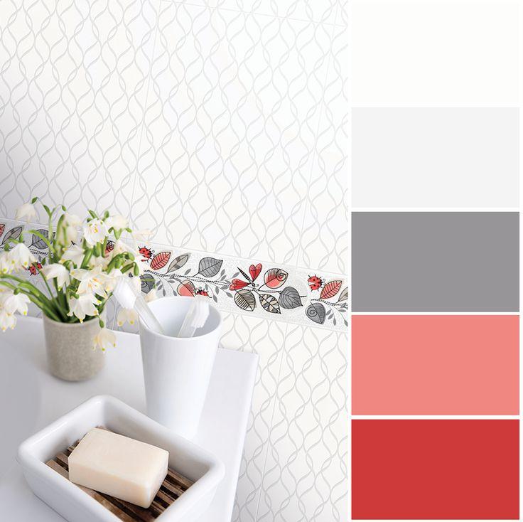 Y la paleta de tonos blancos dan sensación  de pureza, limpieza y amplitud.