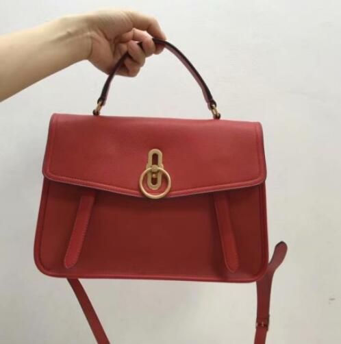 2fa553471037 2018 Cheap Mulberry Gracy Satchel red Grain Calf Leather. Visit. February  2019