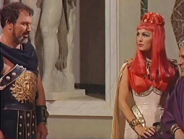 Artamne, in Revolt of the Praetorians, Moira Orfei, 1964.