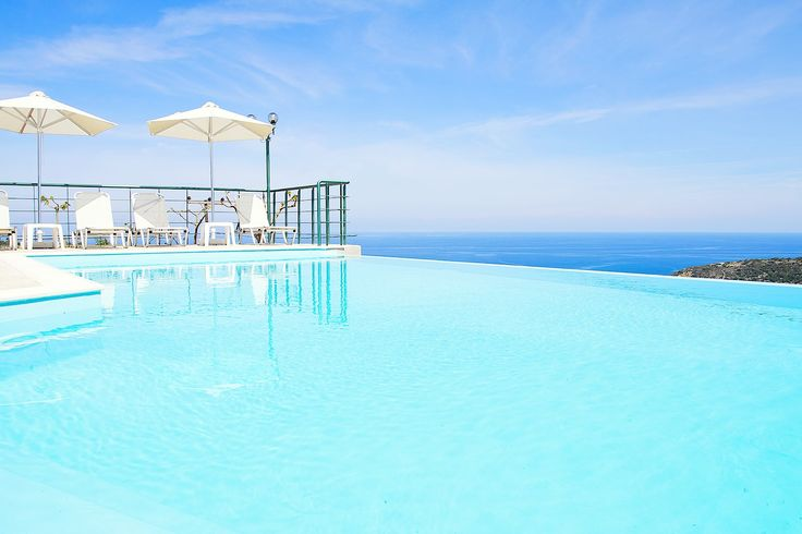 #Estate in #Rethymno #photography #architectural #swimmingpool #landscape #bluesky #endless