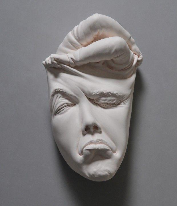 Sublimes Sculptures En Ceramique De L Artiste Johnson Tsang Journal Du Design Lucid Dream Dessin Visage Visage