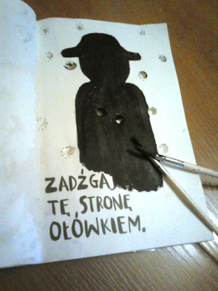 "Zadzgaj te strone ol�wkiem."" on Pinterest | Book, DIY and Pencil"