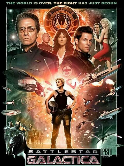 Science Fiction Romance inspired by Battlestar Galactica