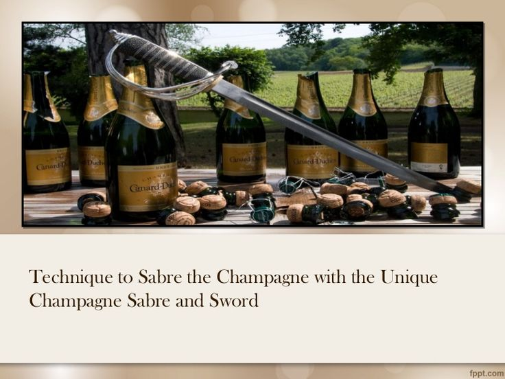 Champagne sabres offers stylish champagne sabre and champagne sword to rip off the cork of champagne bottles. Read the slide show to know the steps about how to skillfully open the champagne bottles. #champagnesabre #champagnesword