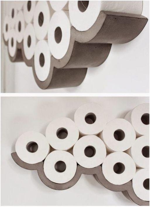 Lagring av toalettpapir