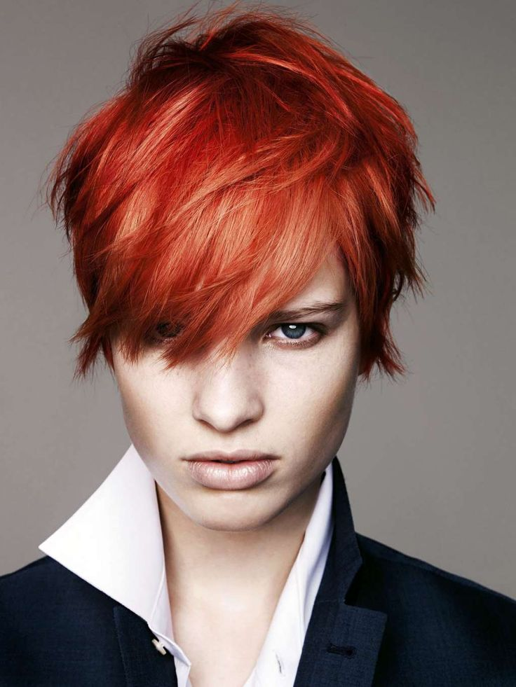 Short hairstyles and haircuts for women over 40  Tomboy Style  Short red hair Hair styles