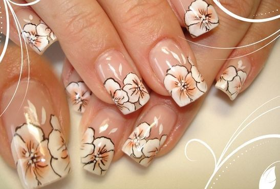 #nails #art #flower #fashion #beauty #beautiful #evgelina