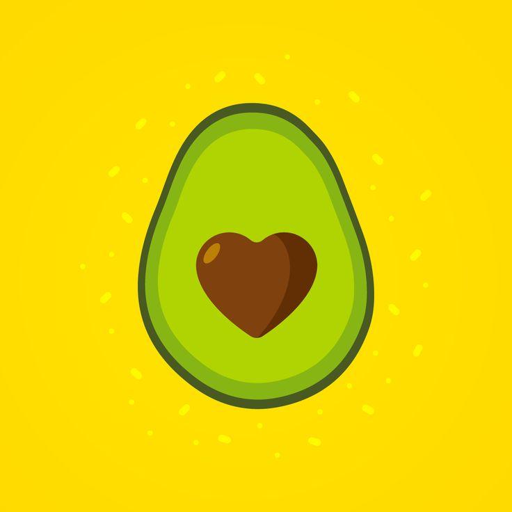 #avocado is love.   #illustration