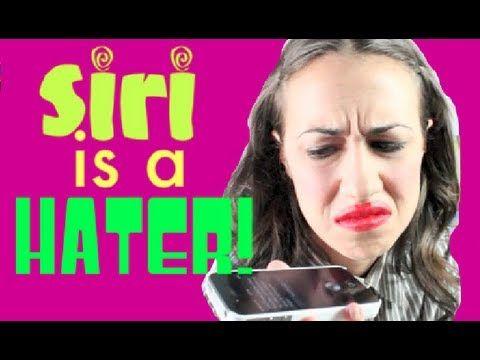 MIRANDA TALKS TO SIRI!