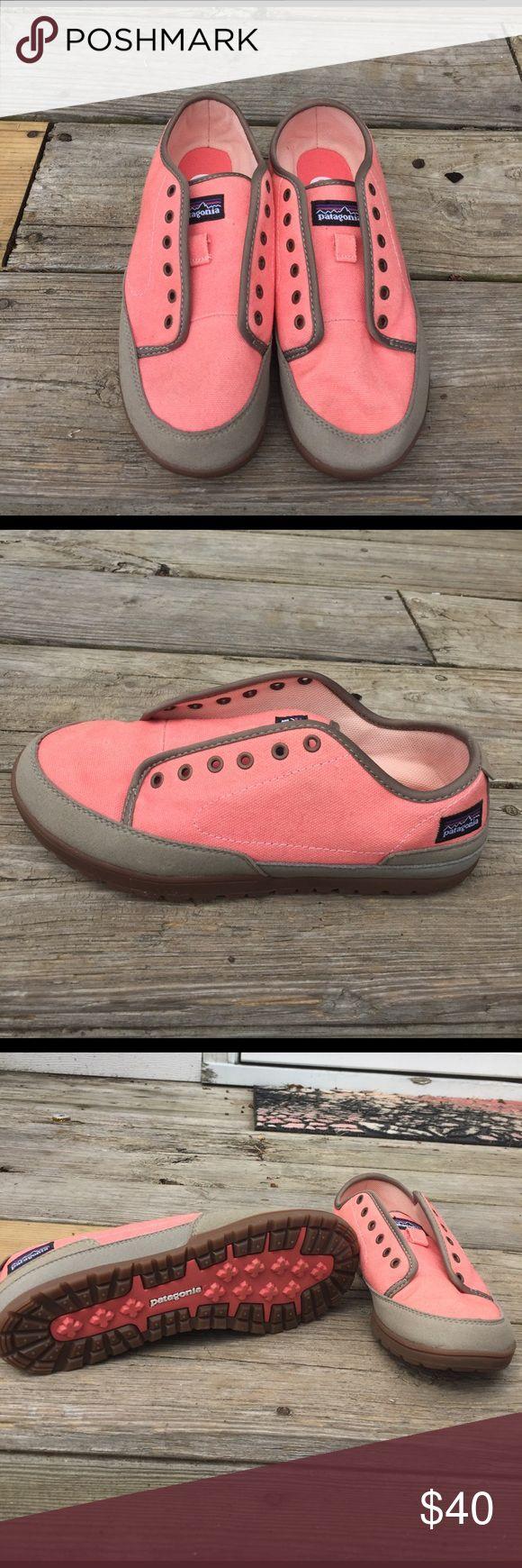 NWOT Patagonia sneakers. Size 7! Coral Patagonia sneakers. Size 7. Never worn! Patagonia Shoes Sneakers