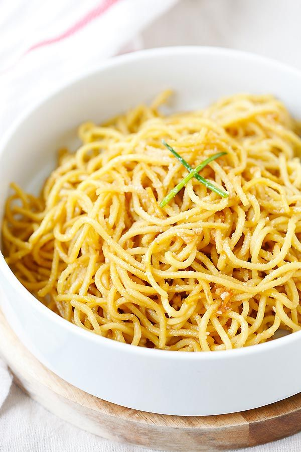 17 Best ideas about Garlic Noodles Recipe on Pinterest ...