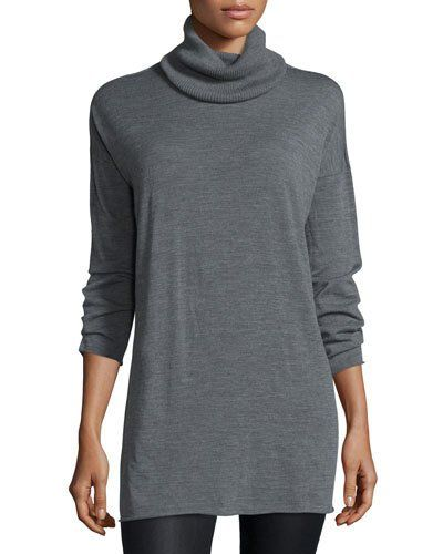 Fisher Project Seamless Featherweight Turtleneck Tunic