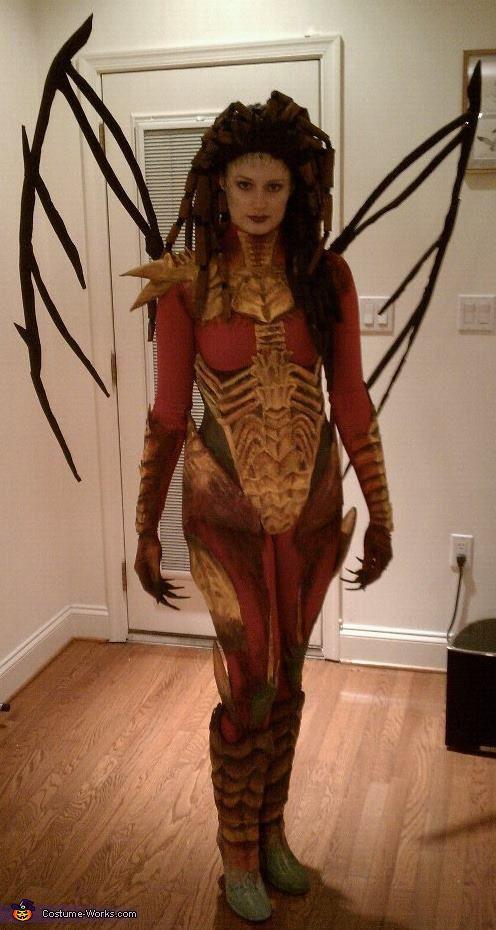 Kerrigan, Queen of Blades... epic costume