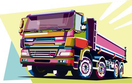 #truck #popart