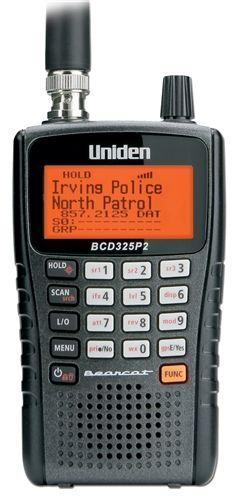 Uniden Bearcat BCD325P2 Police Scanner Radio  ScannerMaster.com