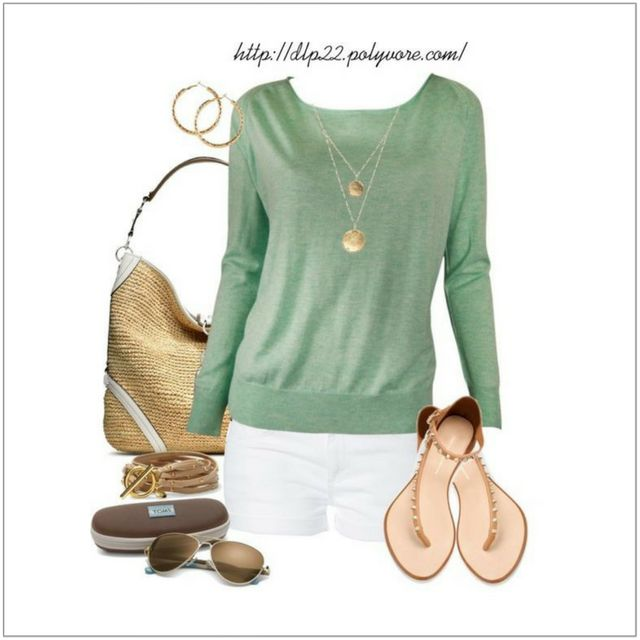 CHATA'S DAILY TIP: White shorts are hot, hot, hot this summer season.  Read the complete fashion tip here:  #colour #style #fashion #imageconsultant #chataromano By Chata Romano Image Consultant, Liza Spammer. Image Credit: Pinterest