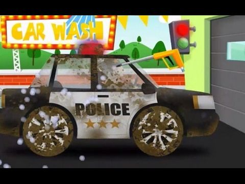 car wash police autobs autos juegos y videos para nios hd