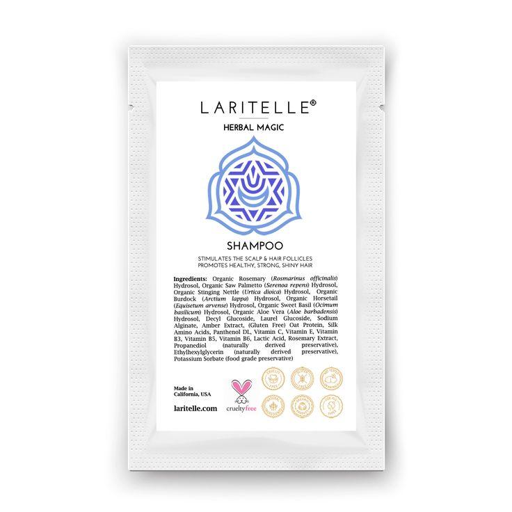 Laritelle Organic Unscented Shampoo Herbal Magic 1 oz (sample)