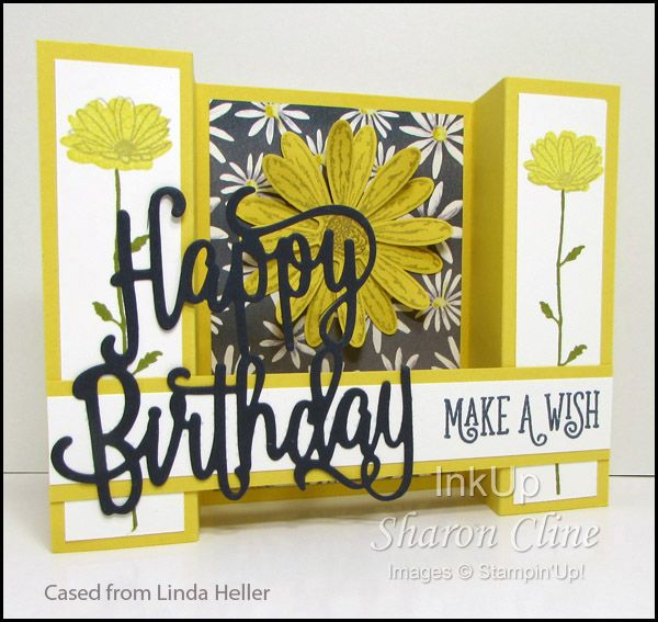 View Bridge Fold Image · InkUp - Sharon Cline, Independent Stampin'Up! Demonstrator, Purcellville Virginia