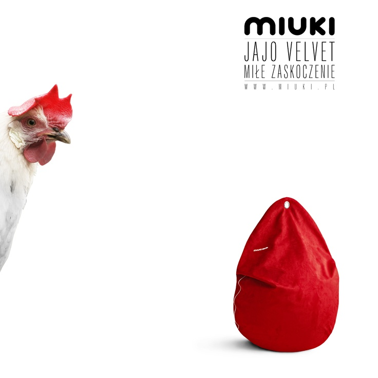 The Velvet Egg - nice surprise / www.miuki.pl