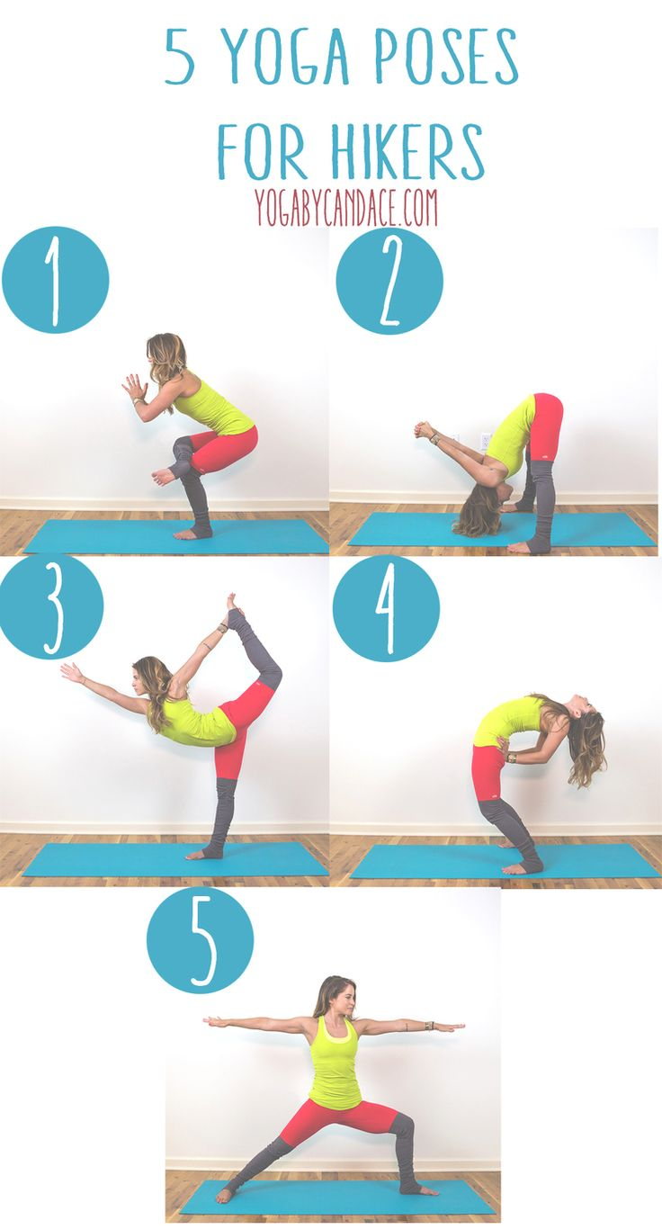 Pin now, practice later! Yoga for hiking Wearing: alo yoga pants, lululemon tank. Using: jade yoga mat.