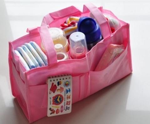 Baby Diaper Nappy Bottle Mother Bag Outdoor Insert Tote Storage Handbag   eBay