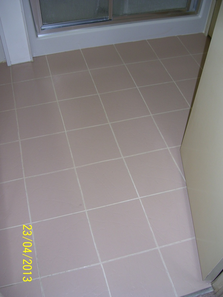 44 best things i made from pinterest images on pinterest for Paint for linoleum floors in bathroom