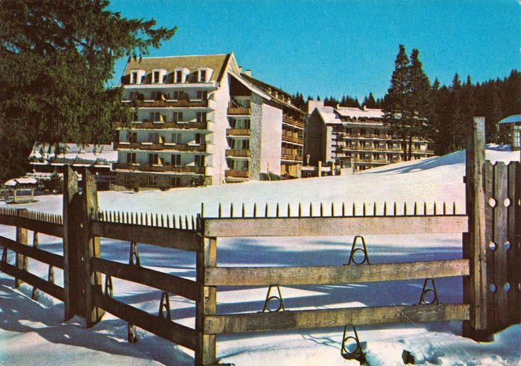 Hotel Teleferic, Poiana Brasov, anii '70.