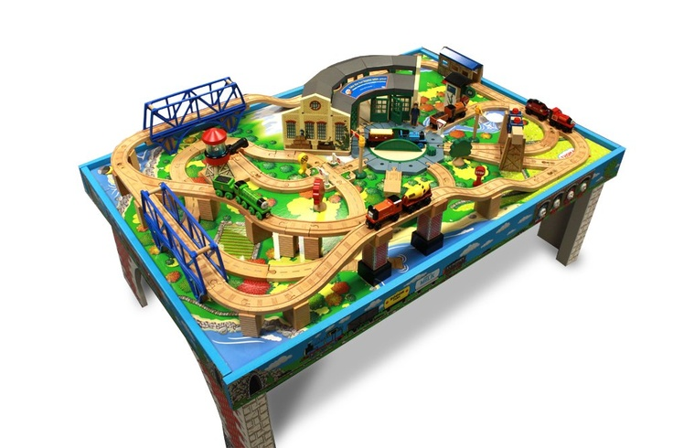 Train Tables For Kids Makes Great Gifts Awesome Train