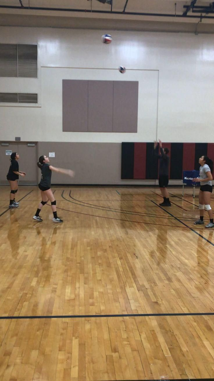 Volleyball Drills Seven Player Setting Drill 5 Top Setting Coaches Show You How To Improve Your Set In 2020 Coaching Volleyball Volleyball Gifs Volleyball Drills