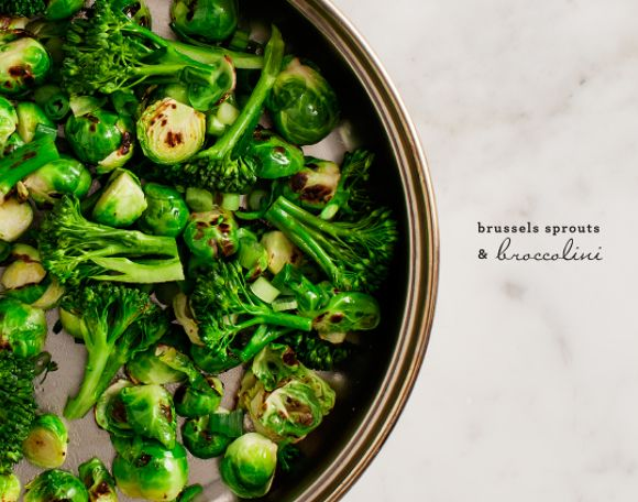 brussels sprout & avocado salad / @loveandlemons