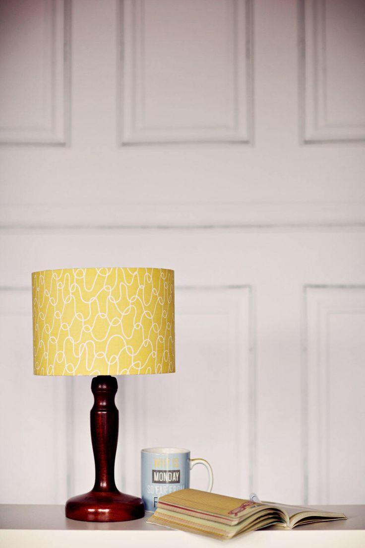 Lampshade, Scandinavian lamp, Yellow lamp shade, mustard home decor, retro decor, bedroom lighting, light shade, lamp shade, retro lampshade by ShadowbrightLamps on Etsy https://www.etsy.com/uk/listing/235591218/lampshade-scandinavian-lamp-yellow-lamp