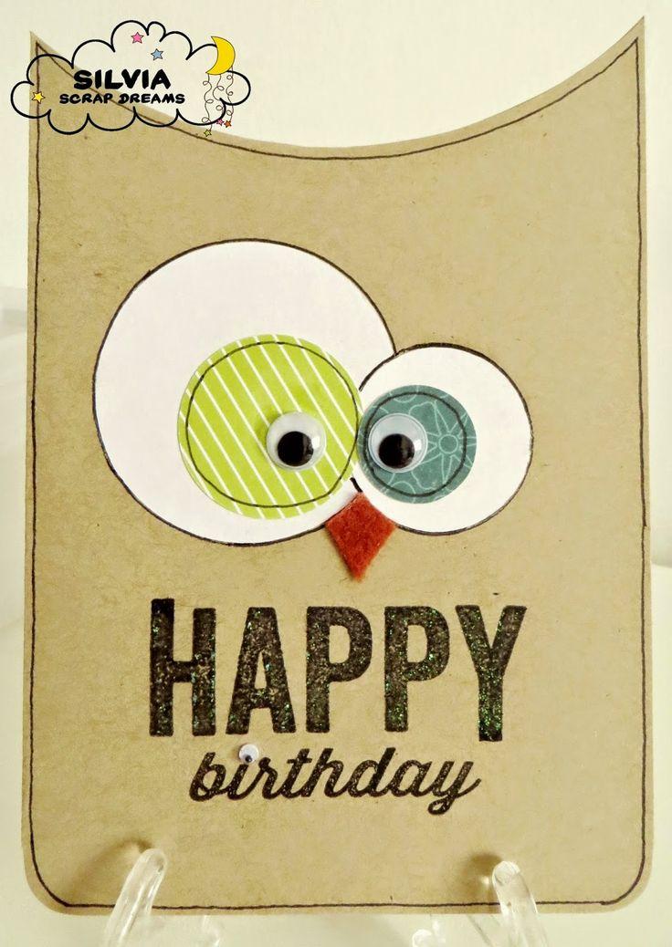TITART: Card di B u-uh on Compleanno! :-)