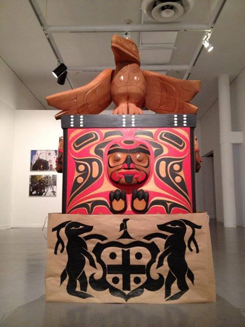 Rande cook raven #raven#chest# native#art