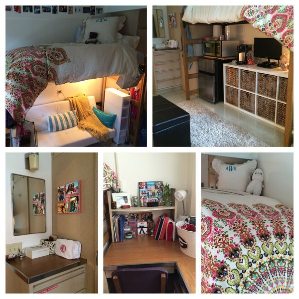 76 best dorm collage images on Pinterest | College dorm rooms ...