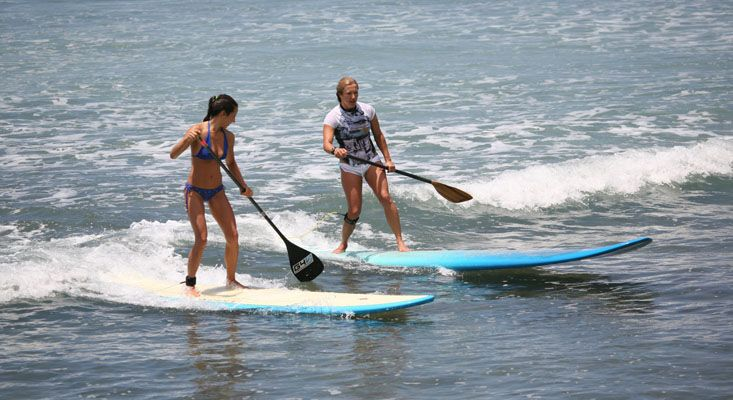Water Sport. Paddle Surf. Stand Up Paddle