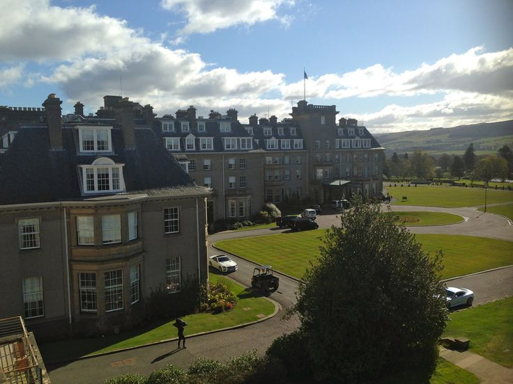 Gleneagles hotel & spa. AKA heaven.