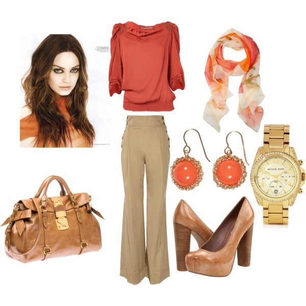 My Style minus the scarf...