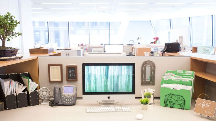"""No one wants to come in early or leave late because they are cleaning their desk,"" says Klosky. ""Suggest setting a monthly company cleaning time to get everyone in the office involved. It's so much easier when you have someone to motivate you."" Bonsai, $49.99; 1-800-Flowers.com. Magazine file, $4.99 for 2; Ikea. See Jane Work business card holder, $5.99; ..."