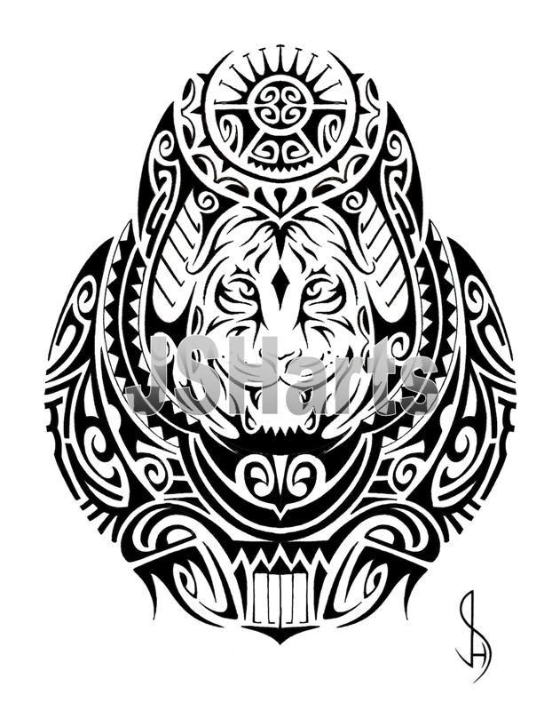 samoan tribal tattoo designs a pinterest tribal tiger tattoo and tribal tiger. Black Bedroom Furniture Sets. Home Design Ideas