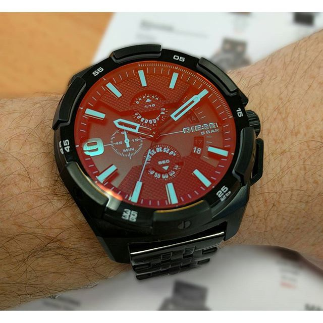 DIESEL Orologio Cronografo Heavyweight DZ4395