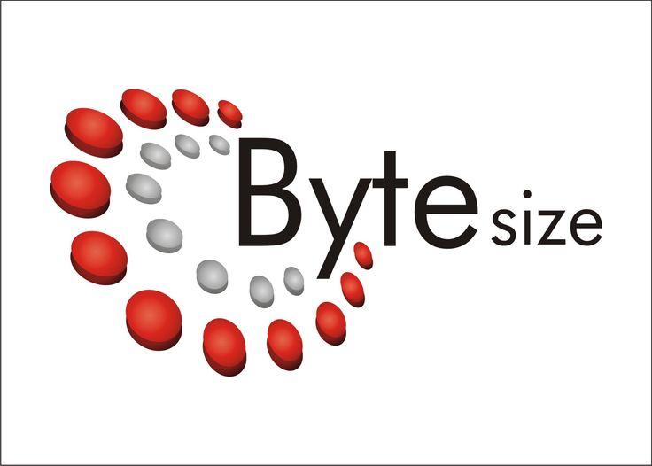 Byte Size Logo Design